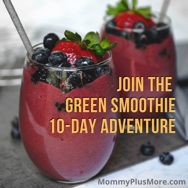 Green Smoothie 10-Day Adventure (Anti-Overwhelm Pack)