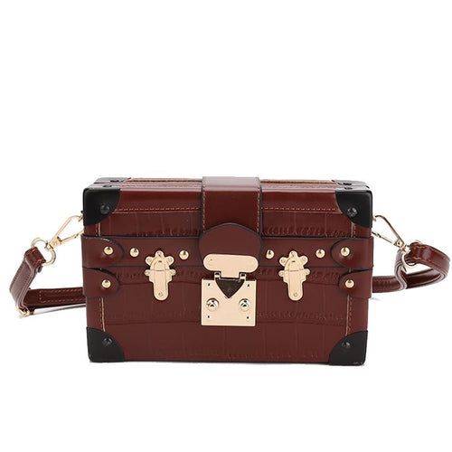 Valerie box shaped bag