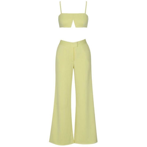 Louella yellow set