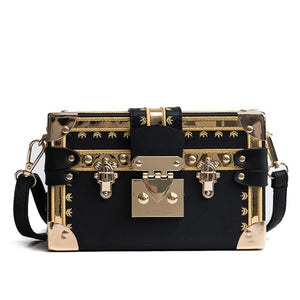 Carly cube crossbody handbag