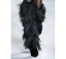 Load image into Gallery viewer, Capria tassel knee-high boots