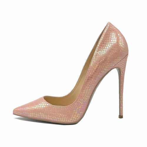 Tasha pink animal print stiletto