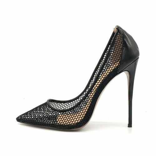Eleanor mesh stiletto