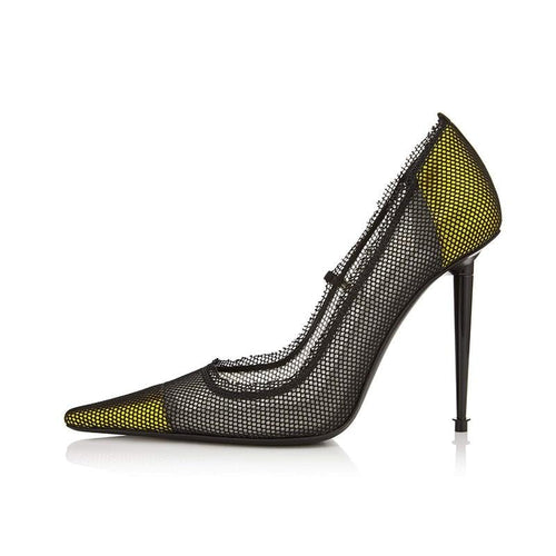 Grandy neon mesh stiletto