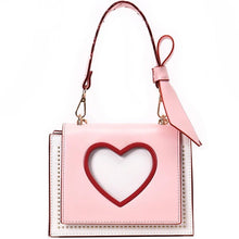 Load image into Gallery viewer, Jessie Pink leather handbag