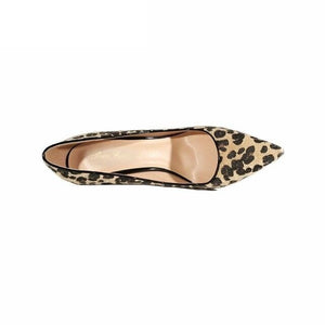 Ora leopard print stiletto pumps