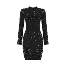 Load image into Gallery viewer, Mia beaded mini dress