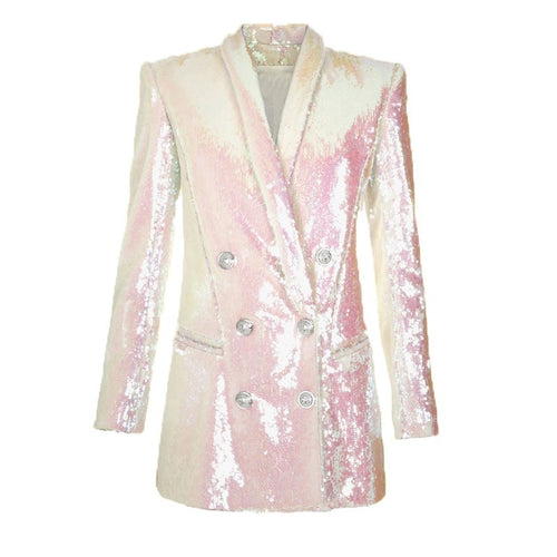 Livia sequin blazer/dress