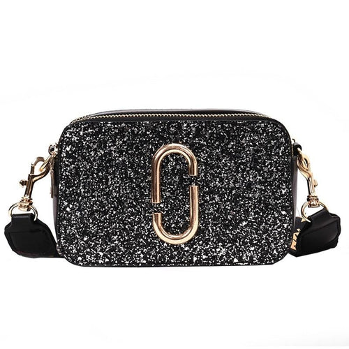 Kai square sequin handbag