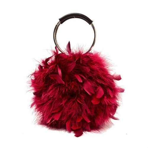 Farren feather tote bag
