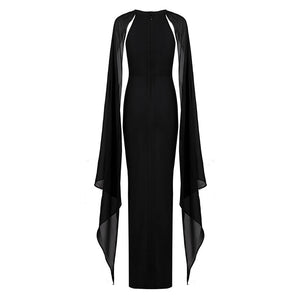 Letitia butterfly sleeve maxi dress