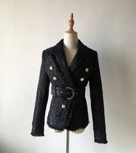 Load image into Gallery viewer, Cecilia belted blazer
