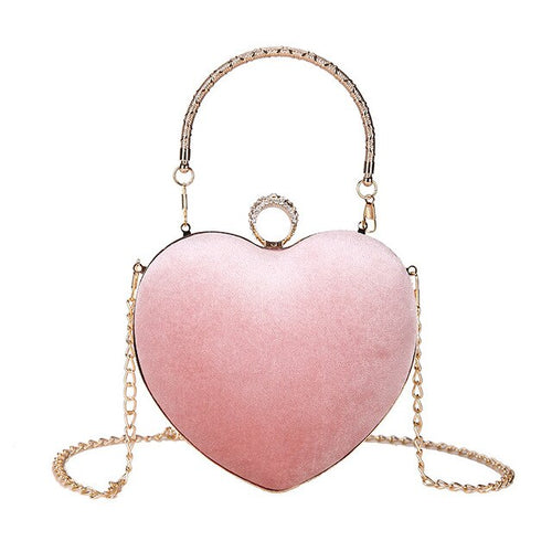 Leah heart shaped bag