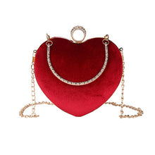 Load image into Gallery viewer, Leah heart shaped bag