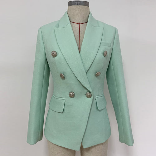 Nori mint green blazer