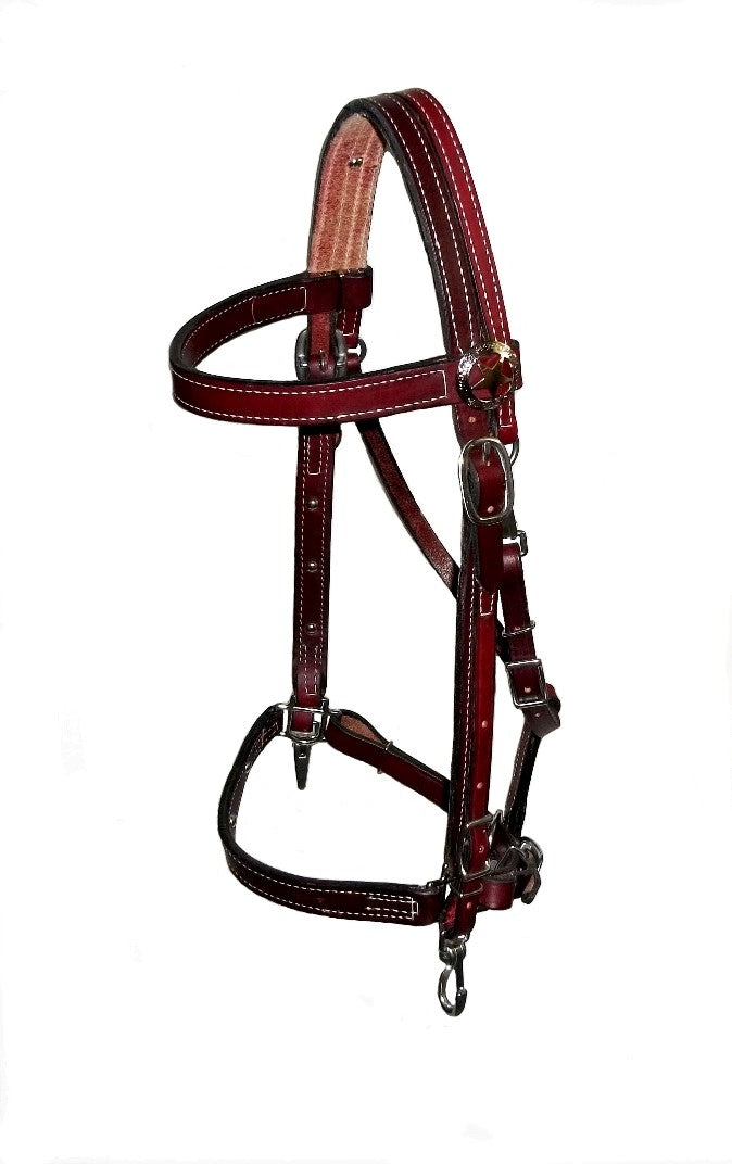 The Magic Therapeutic Halter Bridle Combination with Copper/ Magnetic Buttons