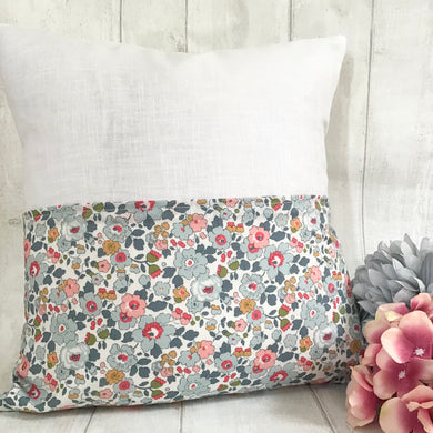 Linen and Liberty reading cushion