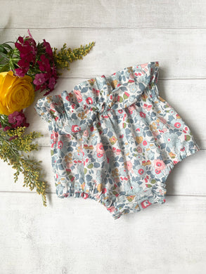 Liberty ruffled bow waist bloomers