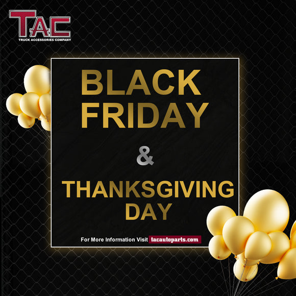 Black Friday & Thanksgiving Day Promotion from Novenber 10th to Novenber 16th