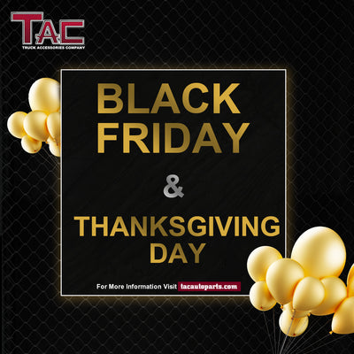 Black Friday & Thanksgiving Day Promotion from Novenber 3th to Novenber 8th