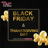 Black Friday & Thanksgiving Day Promotion from Novenber 17th to Novenber 23th