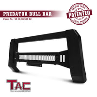 TAC Predator Modular Bull Bar Mesh Version For 2016-2021 Nissan Titan XD Truck Front Bumper Brush Grille Guard Nudge Bar