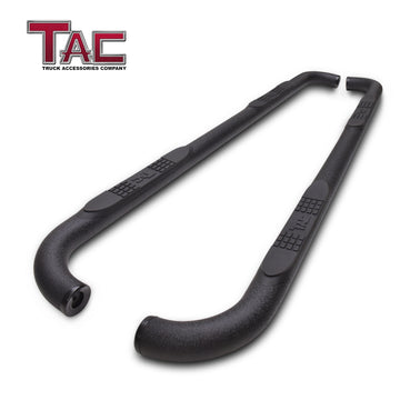 "TAC Heavy Texture Black 3"" Side Steps for 2020 Toyota Highlander (Exclude Hybrid) SUV 