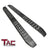 TAC Fine Texture Frigate Running Boards for 2015-2020 Ford F150 SuperCrew Cab/2017-2020 F250-550 Crew Cab Truck | Side Steps | Nerf Bars | Side Bars