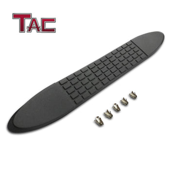 "TAC Replacement Step Pad for 4 Inch Oval Straight Tube Side Steps Running Board Side Bar Nerf Bar – 1 Step Pad with 5 Clips(Only Fit TAC Brand 4"" Side Steps)"