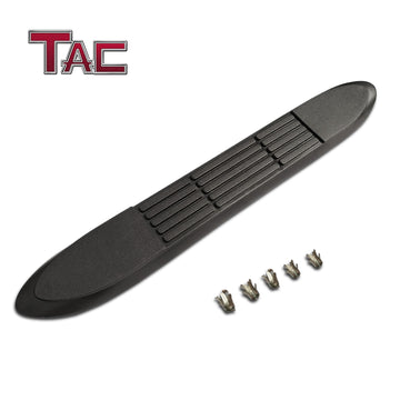 "TAC Replacement Step Pad for 3 Inch Round Tube Side Steps Running Board Side Bar Nerf Bar – 1 Step Pad with 5 Clips(Only Fit TAC Brand 3"" Side Steps)"