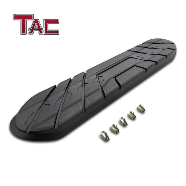 "TAC Replacement Step Pad for All New 4 Inch Oval Straight Tube Side Steps Running Board Side Bar Nerf Bar – 1 Step Pad with 5 Clips(Only Fit TAC Brand 4"" Side Steps)"