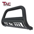 "TAC Heavy Texture Black 3"" Bull Bar for 2011-2021 Jeep Grand Cherokee (Excl. Limited X, SRT, Summit, Trackhawk and models with adaptive cruise control) SUV Front Bumper Grille Guard Brush Guard Off Road Accessories"
