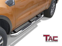 "TAC Stainless Steel 3"" Side Steps For 2019-2020 Ford Ranger Super Cab Truck 