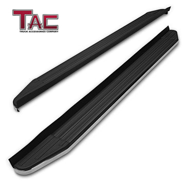TAC ViewPoint Running Boards for 2020 Toyota Highlander SUV | Side Steps | Nerf Bars | Side Bars