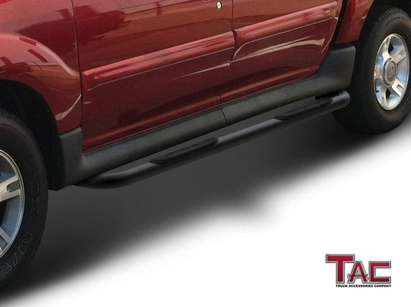 "TAC Gloss Black 3"" Side Steps For 2001-2006 Ford Explorer Sport Track Truck 