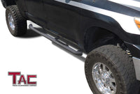 "TAC Heavy Texture Black 3"" Side Steps For 2007-2021 Toyota Tundra Double Cab Truck 