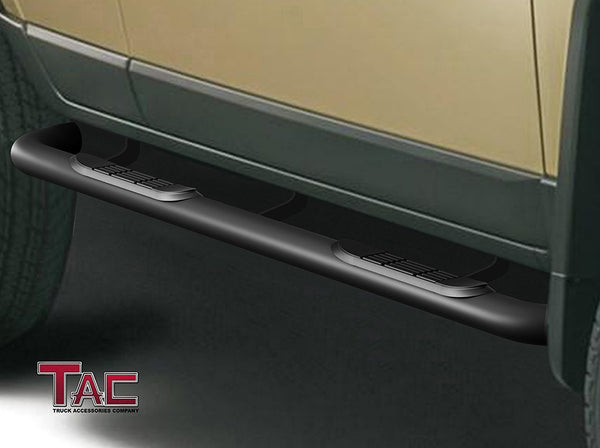 "TAC Gloss Black 3"" Side Steps For 2002-2005 Ford Explorer (4 Door) SUV 