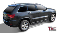 "TAC Heavy Texture Black 3"" Side Steps For 2011-2021 Jeep Grand Cherokee (Excl. Limited X, High Altitude, SRT,  SRT8, Trackhawk, Trailhawk, Summit) 