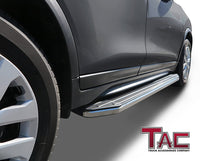 TAC ViewPoint Running Boards For 2011-2021 Jeep Grand Cherokee (Excl. Limited X, High Altitude, SRT,  SRT8, Trackhawk, Trailhawk, Summit) | Side Steps | Nerf Bars | Side Bars