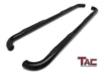 "TAC Gloss Black 3"" Side Steps For 2009-2020 Dodge Journey SUV 