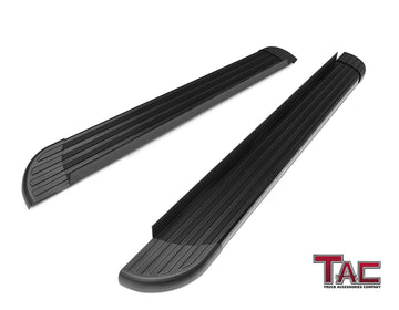 TAC Value Aluminum Running Boards For 2011-2020 Jeep Grand Cherokee (Excl. Limited X, High Altitude, SRT,  SRT8, Trackhawk, Trailhawk, Summit) SUV | Side Steps | Nerf Bars | Side Bars