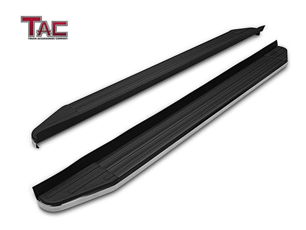 TAC ViewPoint Running Boards For Toyota 4Runner 2010-2021 Limited Model / 2010-2013 SR5 Model / 19-21 Nightshade Edition Model(Excl. All Model Not Listed) SUV | Side Steps | Nerf Bars | Side Bars