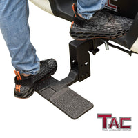 "TAC Universal Hitch Step Adjuster Fit Most Hitch Step Brand Selling on the Market / Two Stage Adjustable Drop Mount on 2"" Hitch Receiver"