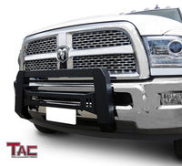 TAC Predator Modular Bull Bar Mesh Version For 2010-2018 Dodge Ram 2500/3500 HD Truck Front Bumper Brush Grille Guard Nudge Bar