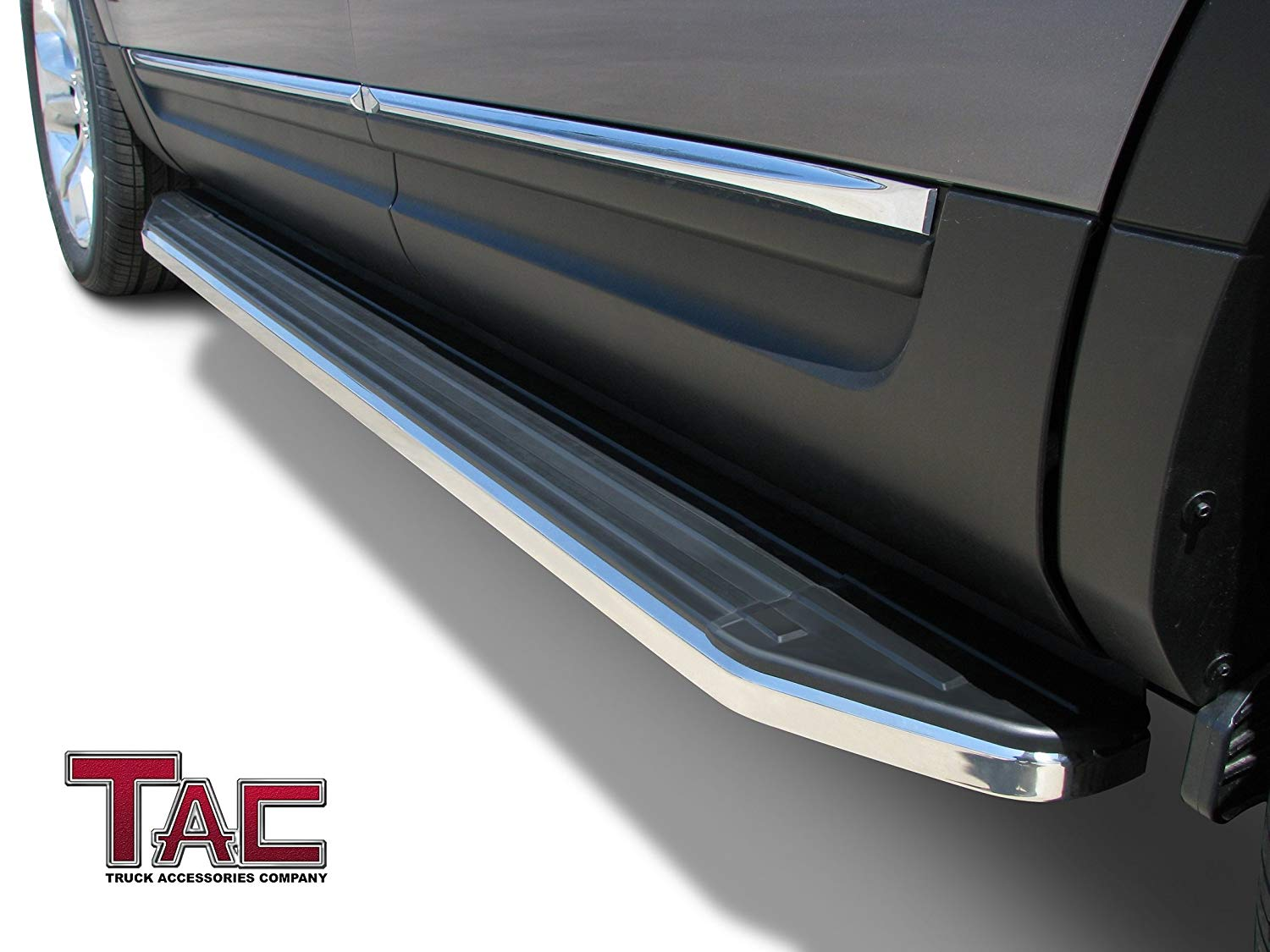 // 2011-2020 Dodge Durango Rear Bumper Guard Black Protection Nerf Push Bar TAC Custom Fit 2011-2020 Jeep Grand Cherokee Excl. Limited X, High Altitude, Trailhawk, Trawkhawk, SRT, Summit Models
