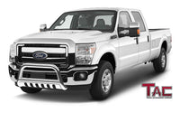 "TAC Stainless Steel 3"" Bull Bar For 2011-2016 Ford Super Duty F250/F350/F450/F550 Truck Front Bumper Brush Grille Guard Nudge Bar"