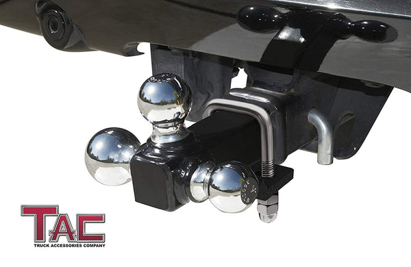 "TAC Heavy Texture & Stainless Steel Hitch Tightener Fit for 1.25"" and 2"" Hitches"