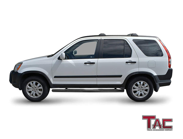 "TAC Gloss Black 3"" Side Steps For 2002-2006 Honda CRV SUV 