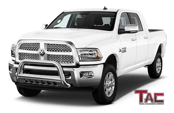 "TAC Stainless Steel 3"" Bull Bar For 2010-2018 Dodge RAM 2500/3500 Truck Front Bumper Brush Grille Guard Nudge Bar"