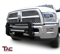 TAC Predator Modular Bull Bar with LED Light For 2010-2018 Dodge Ram 2500/3500 Truck Front Bumper Brush Grille Guard Nudge Bar